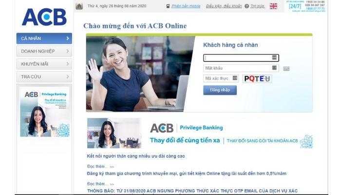Quên mật khẩu ACB online phải làm sao? 3 cách lấy lại mật khẩu chỉ 1 phút