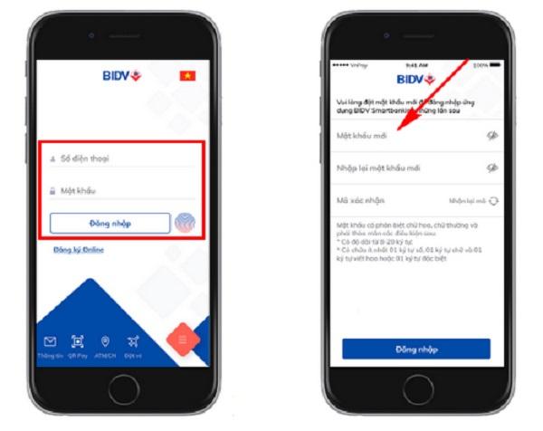 Cách lấy lại mật khẩu Smartbanking BIDV đơn giản tại nhà