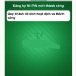 5 bước kích hoạt Internet Banking Vietcombank trên điện thoại online