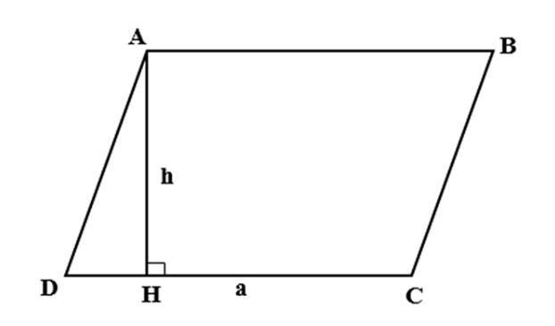 Công thức tính diện tích hình bình hành, chu vi hình bình hành chính xác