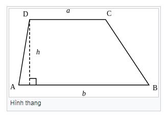 Hình thang là gì ? Tính chất hình thang cân, hình thang vuông