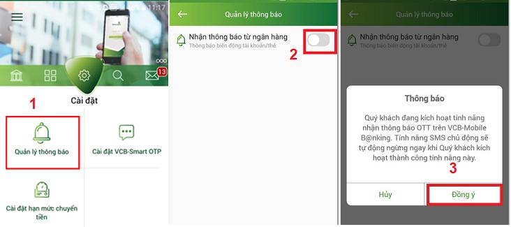 4 Cách hủy SMS Banking Vietcombank cực đơn giản chỉ 1 phút