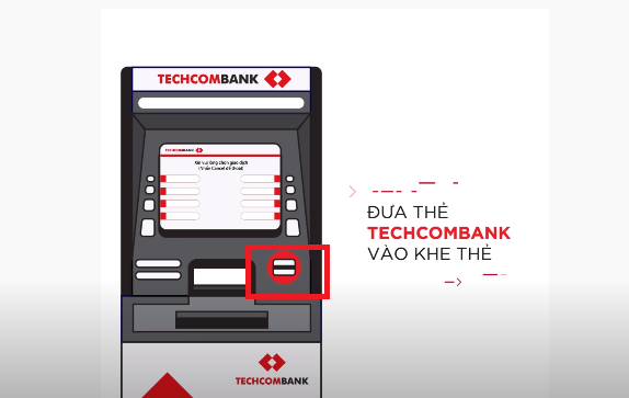 Cách nộp tiền tại cây ATM Techcombank đơn giản chỉ 3 phút
