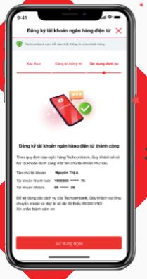 Cách mở tài khoản Techcombank online tại nhà miễn phí thành công 100%