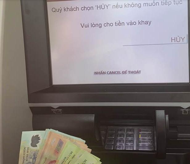 Cách nạp tiền vào thẻ qua cây ATM Agribank chi tiết từ A - Z